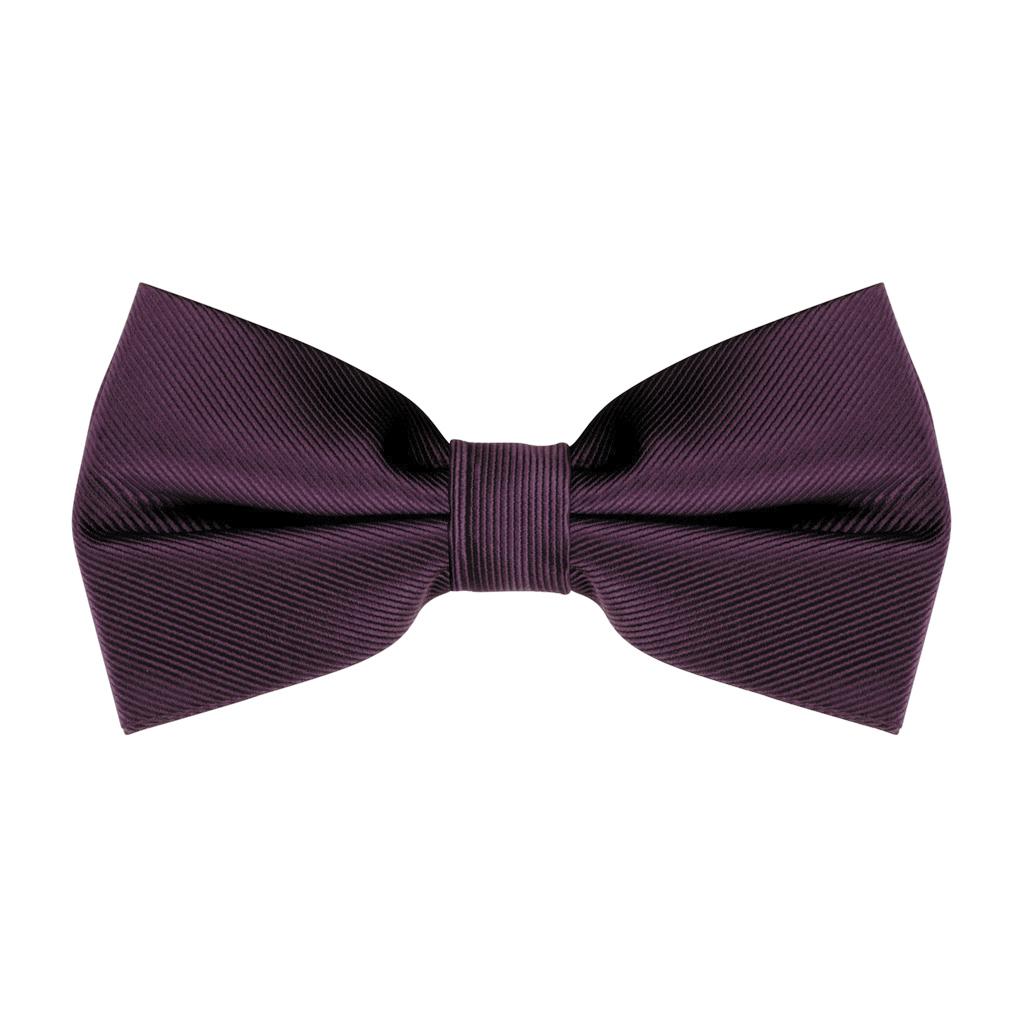 Bow Tie in Plum