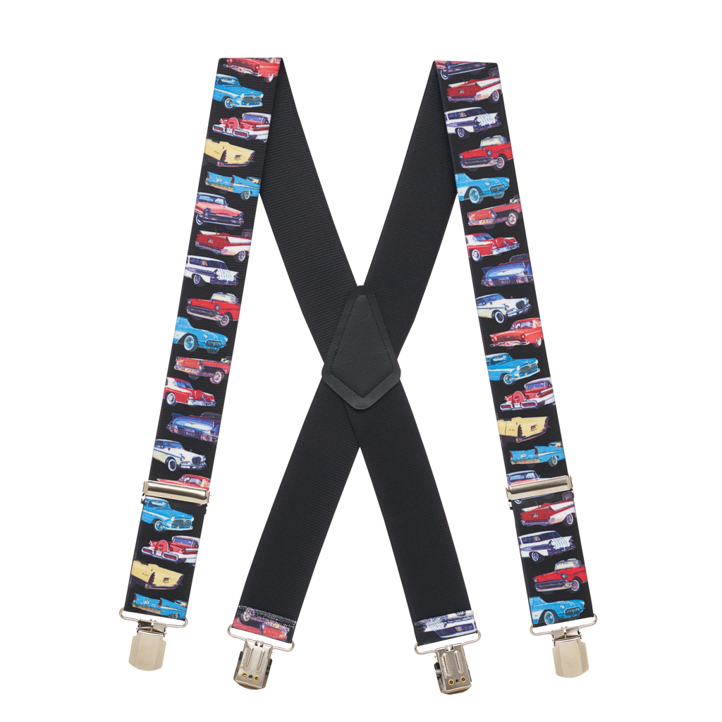 Class of 57 Suspenders - Full View