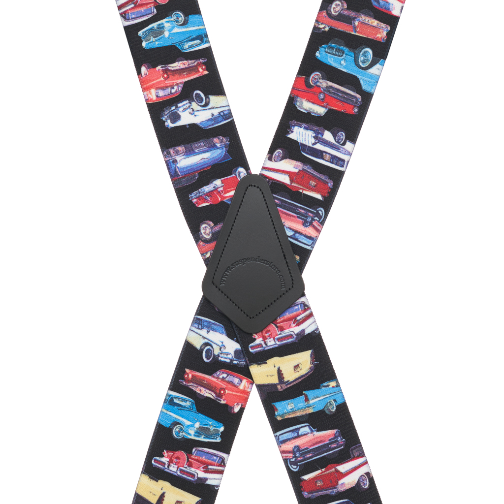 CLASS OF 57 2-Inch Wide Pin Clip Suspenders