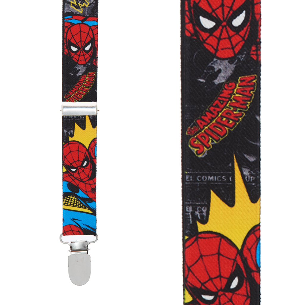 Spider-Man Suspenders - Front View