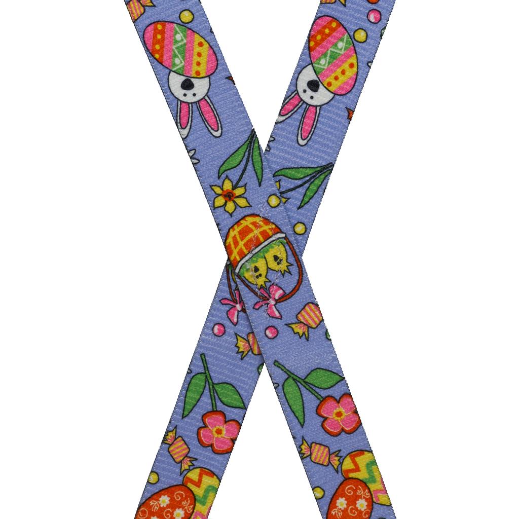 Kids' Easter Suspenders - Rear View
