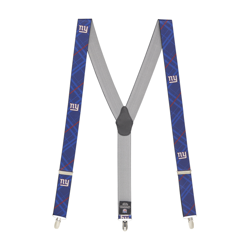New York Giants Suspenders - Full View