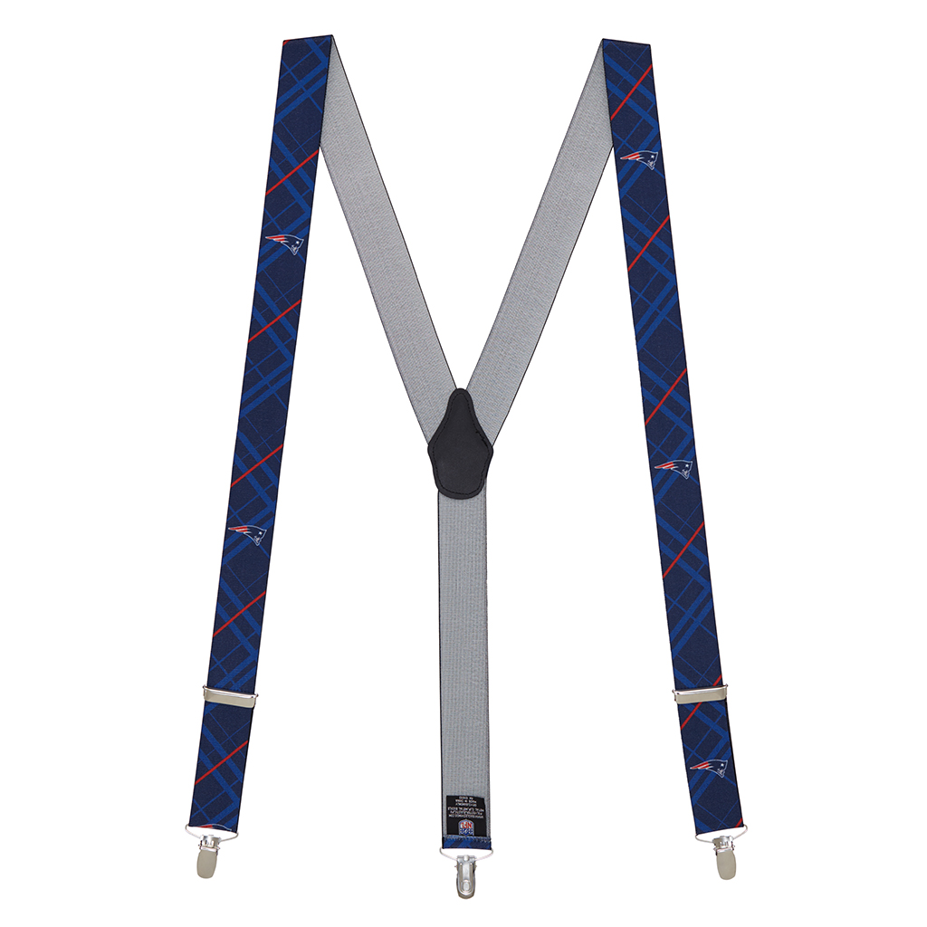 New England Patriots Suspenders - Full View