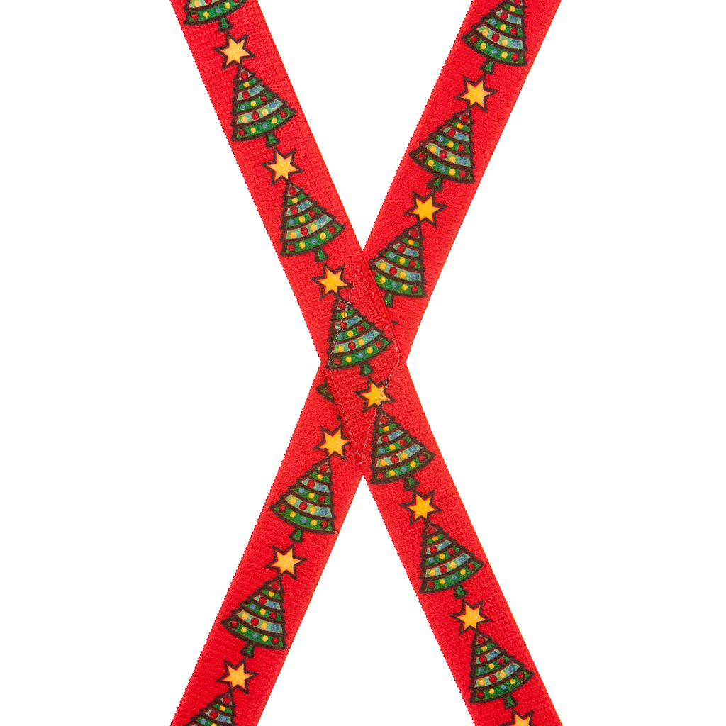 Christmas Tree Suspenders for Kids