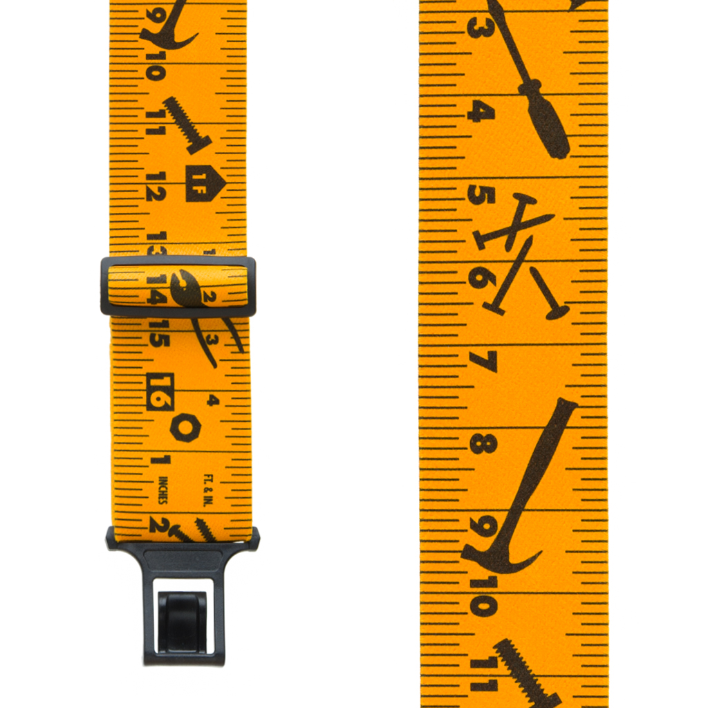 Perry Suspenders - Front View - Tape Measure