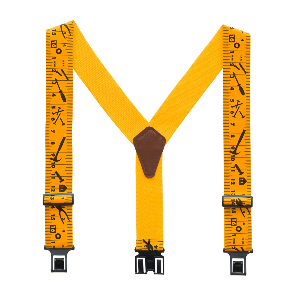 Perry Suspenders - Full View - Tape Measure