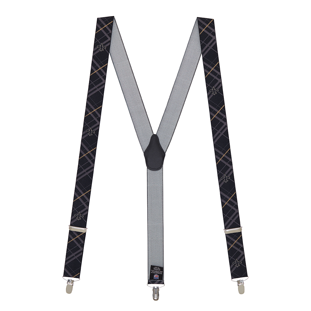 New Orleans Saints Suspenders - Full View