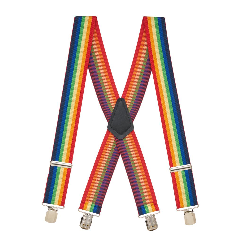 Rainbow Suspenders - Full View