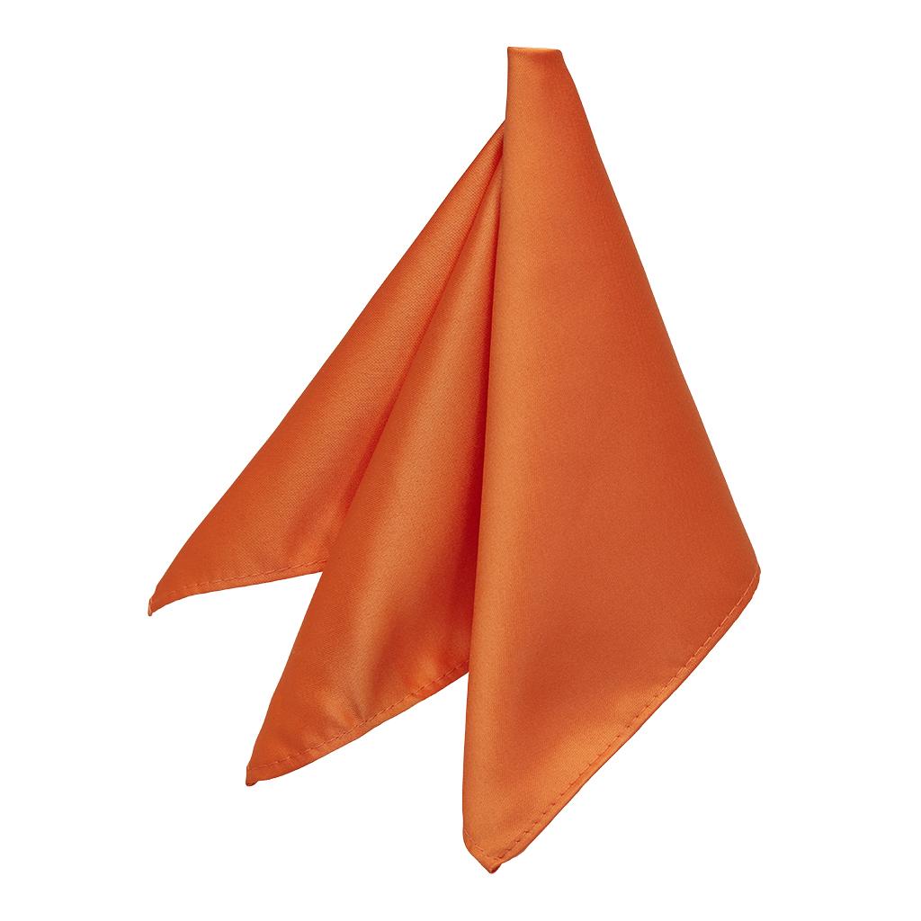 Pocket Square Orange