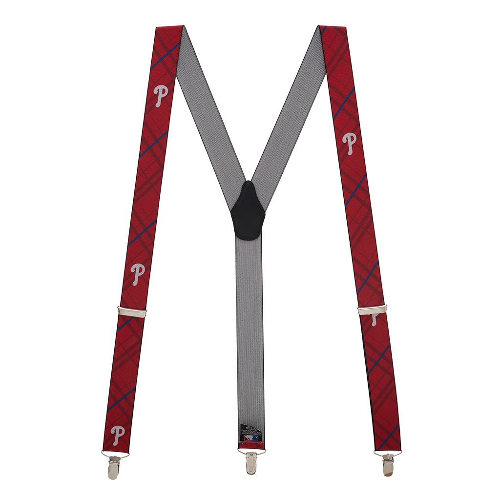 MLB Baseball Team Suspenders Full View