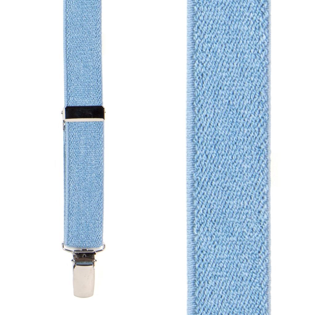 Denim Suspenders for Kids Front View