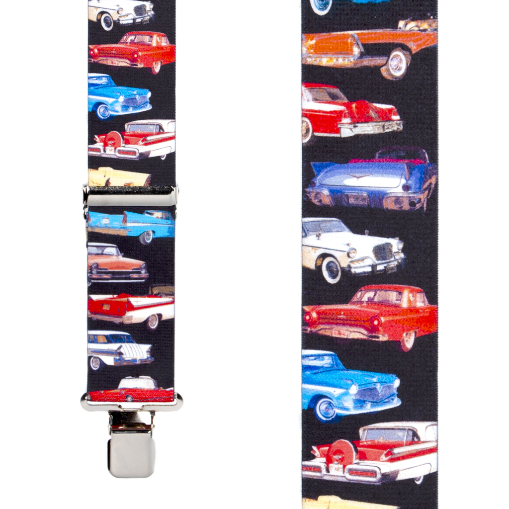Class of 57 Suspenders - Front View