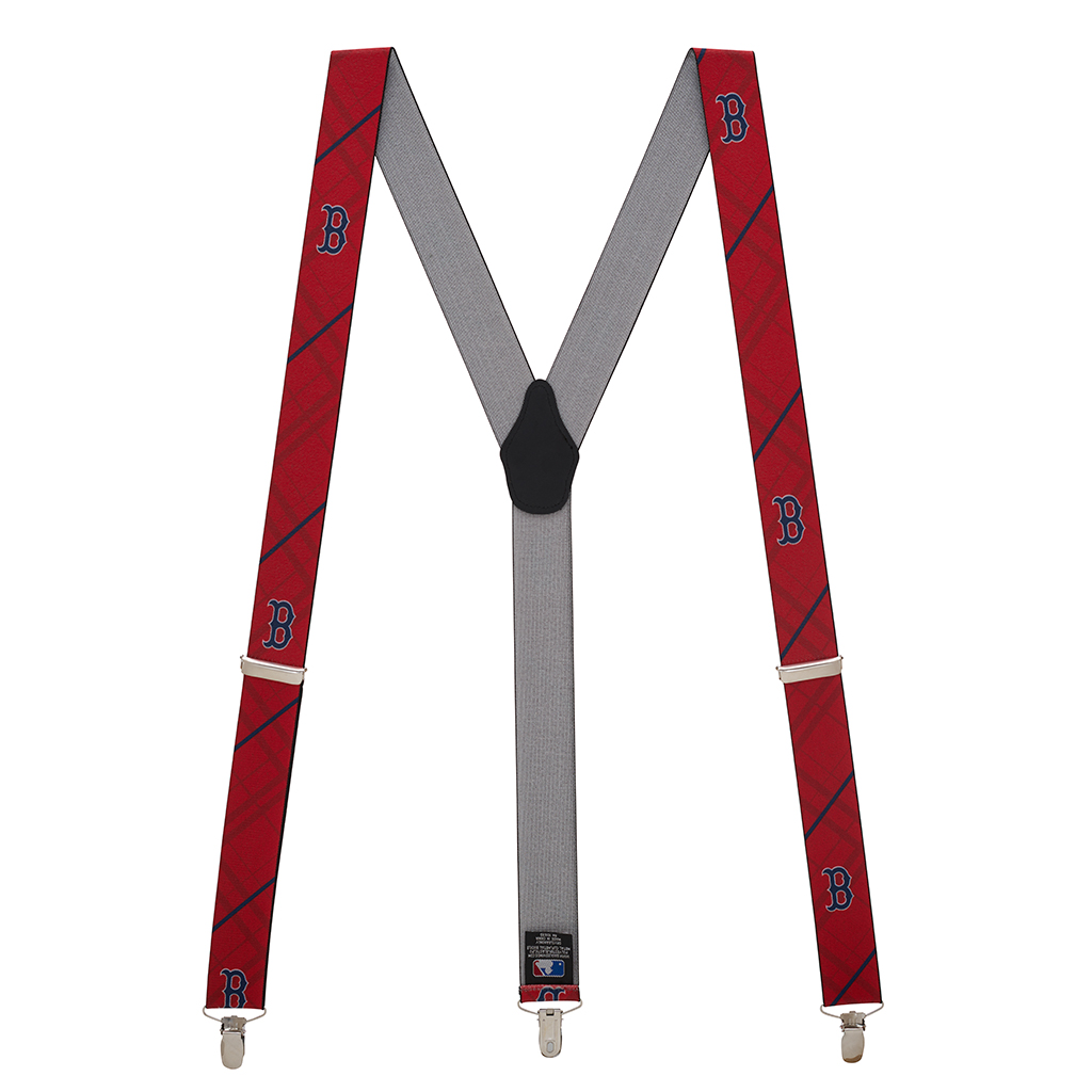 Full View - Boston RED SOX MLB Team Suspenders