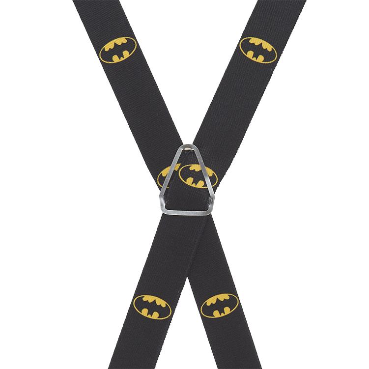 Batman Suspenders - Rear View
