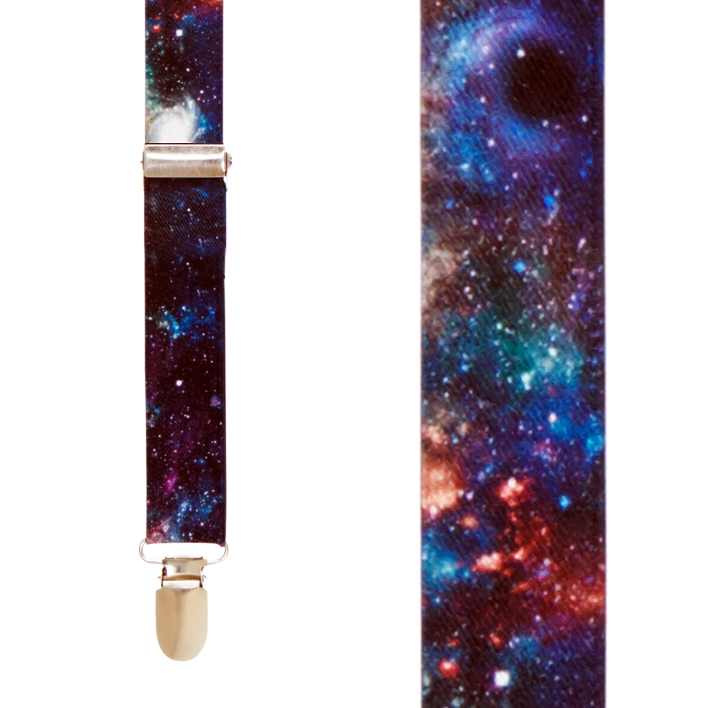 Galaxy Suspenders - Front View