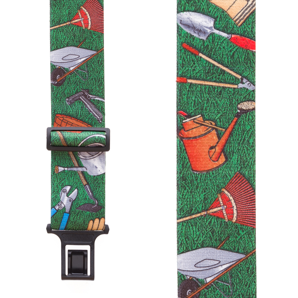 Perry Suspenders - Front View - Novelty Gardener