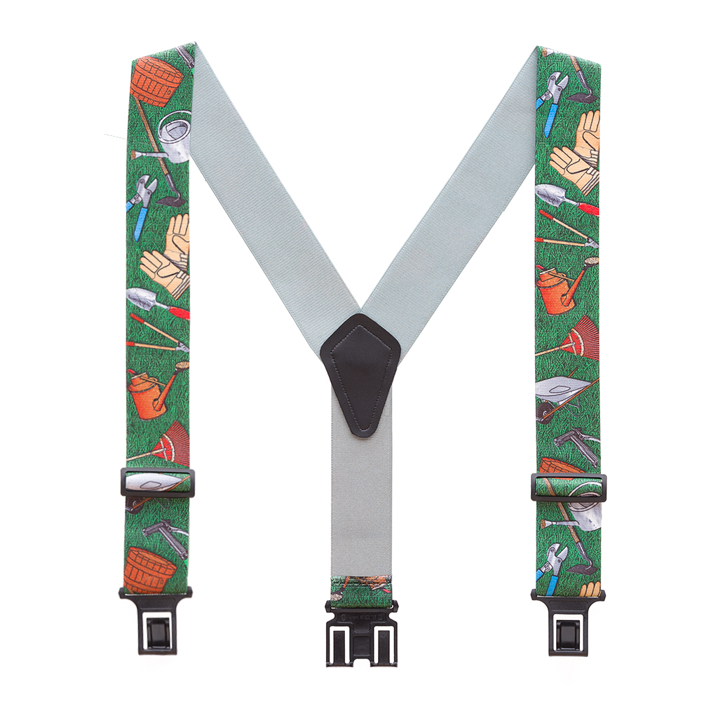 Perry Suspenders - Full View - Novelty Gardener