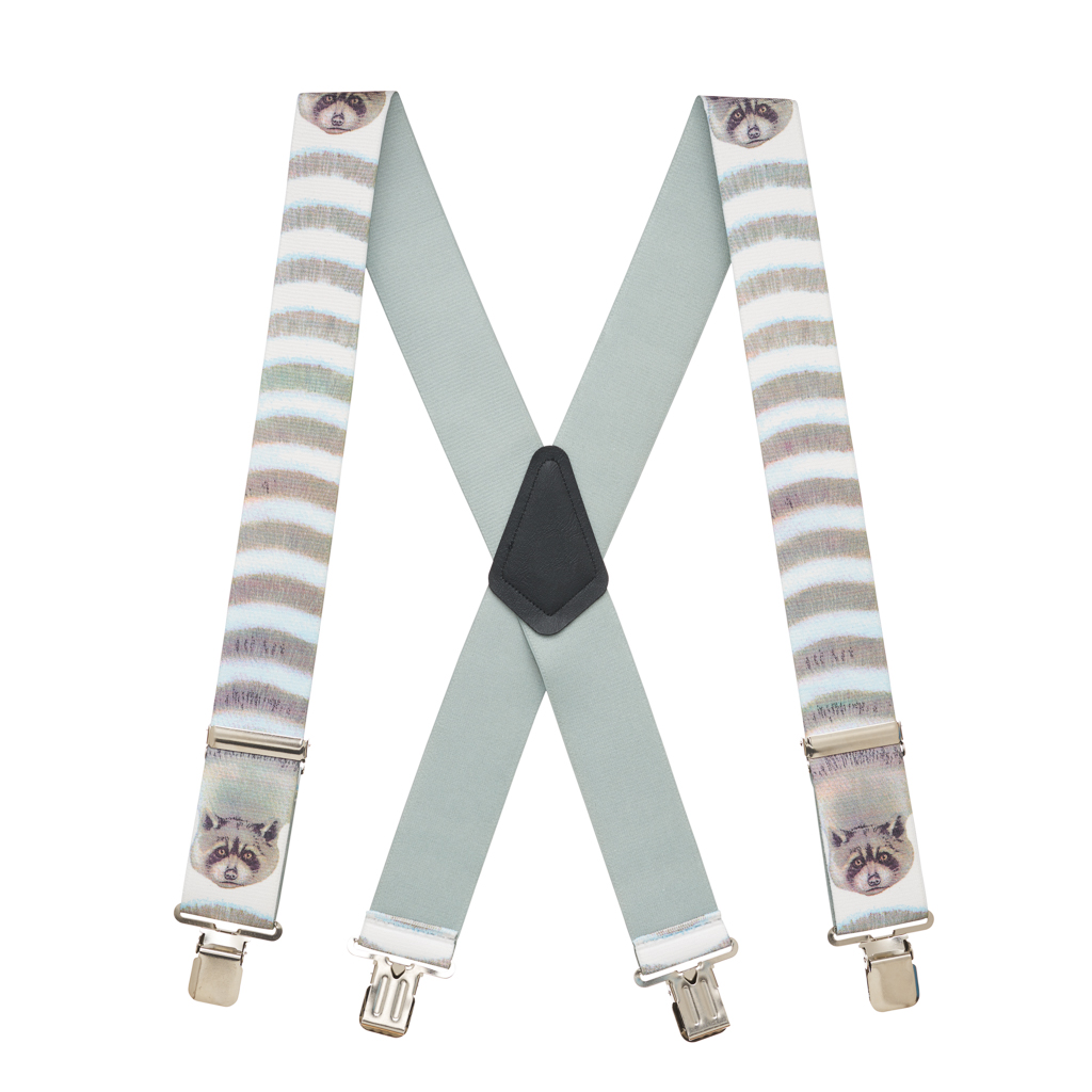 Raccoon Suspenders - Full View