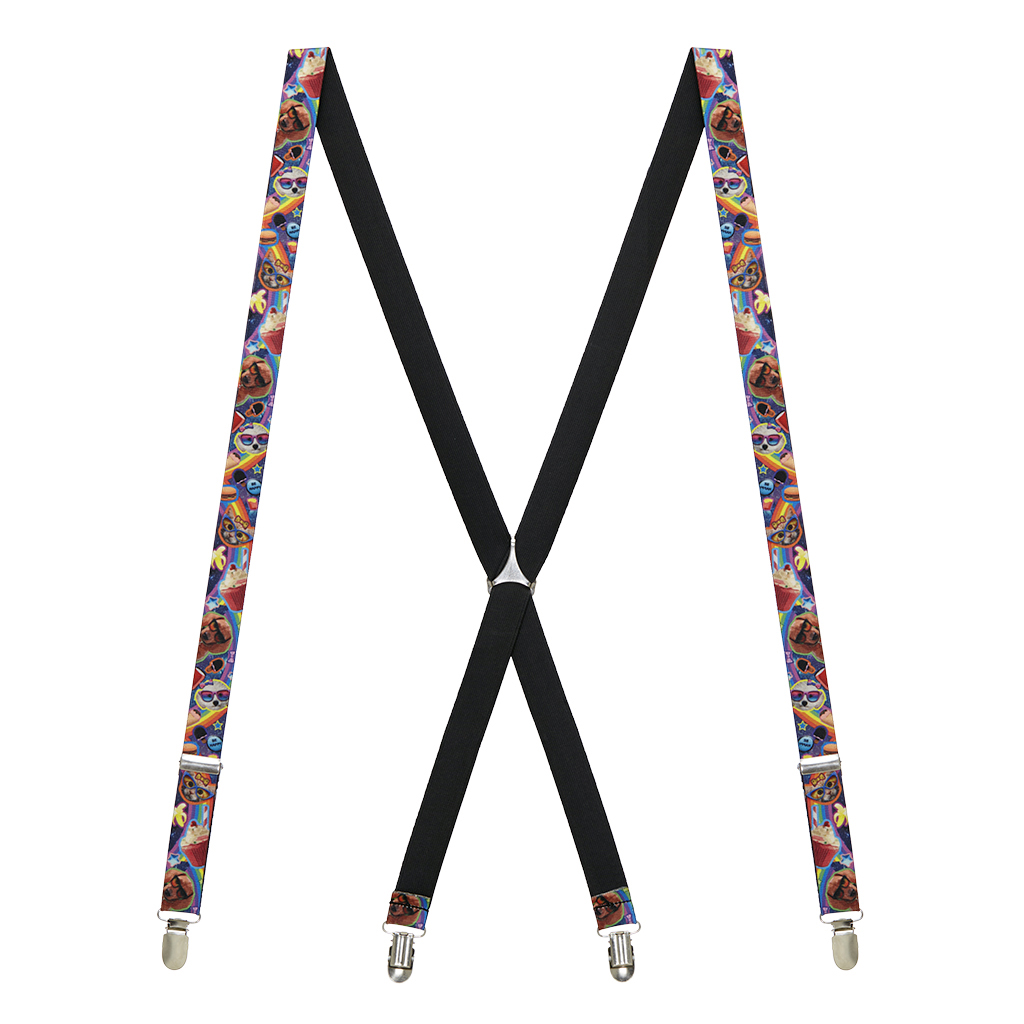 Pets and Snacks Suspenders