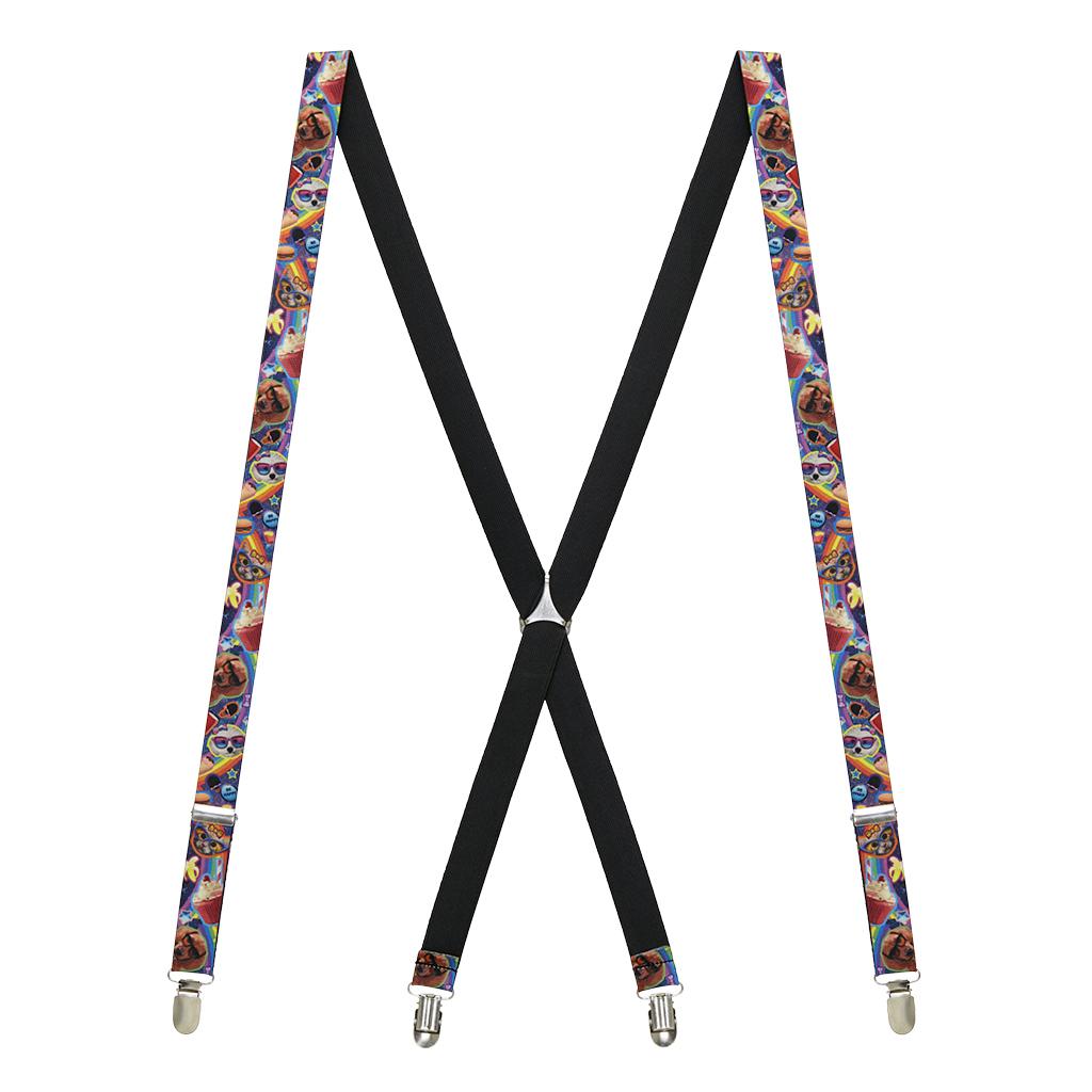 Pets & Snacks Suspenders - Full View