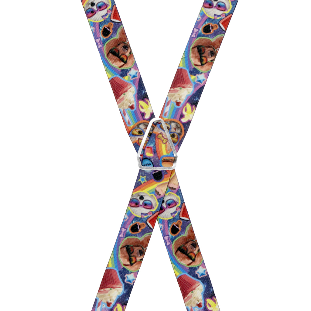 Pets & Snacks Suspenders - Rear View