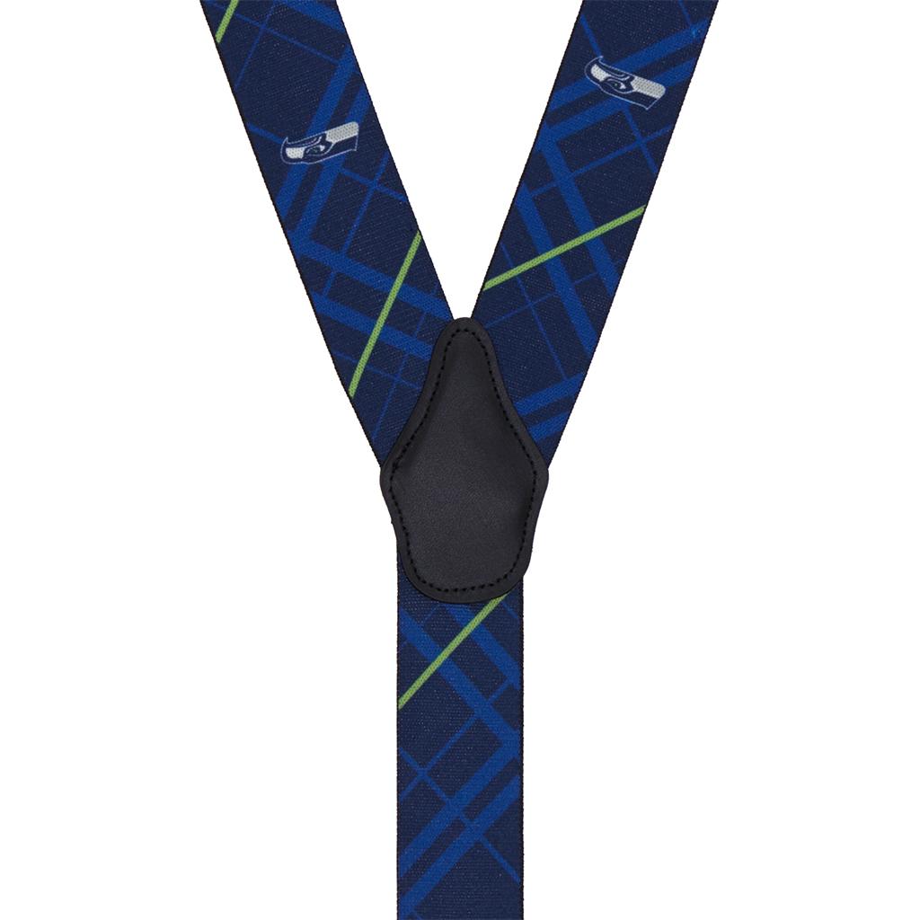 Seattle Seahawks Suspenders - Rear View