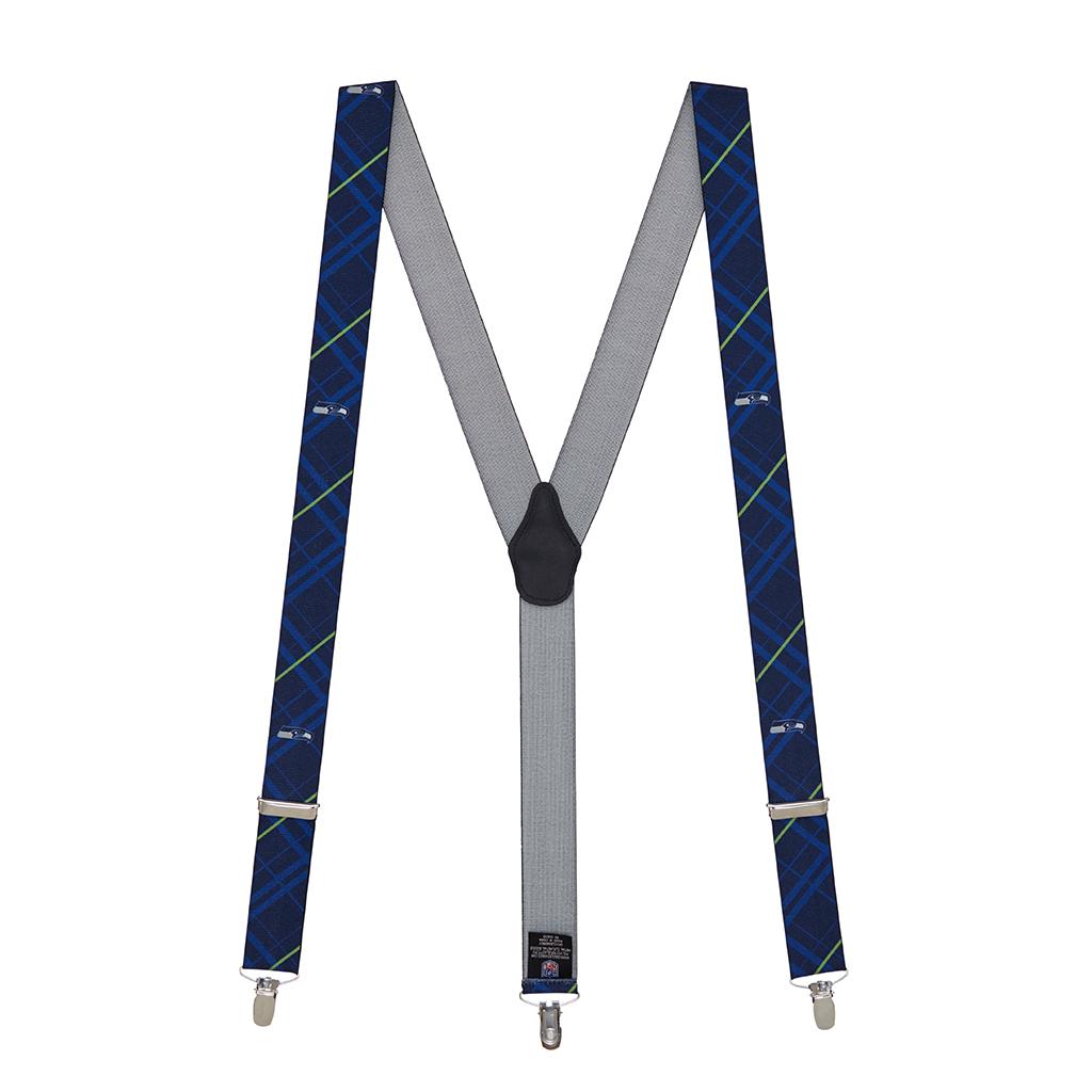 Seattle Seahawks Suspenders - Full View