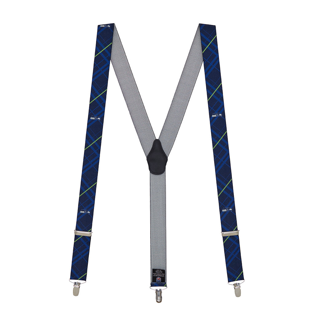 Seahawks Suspenders - Full View