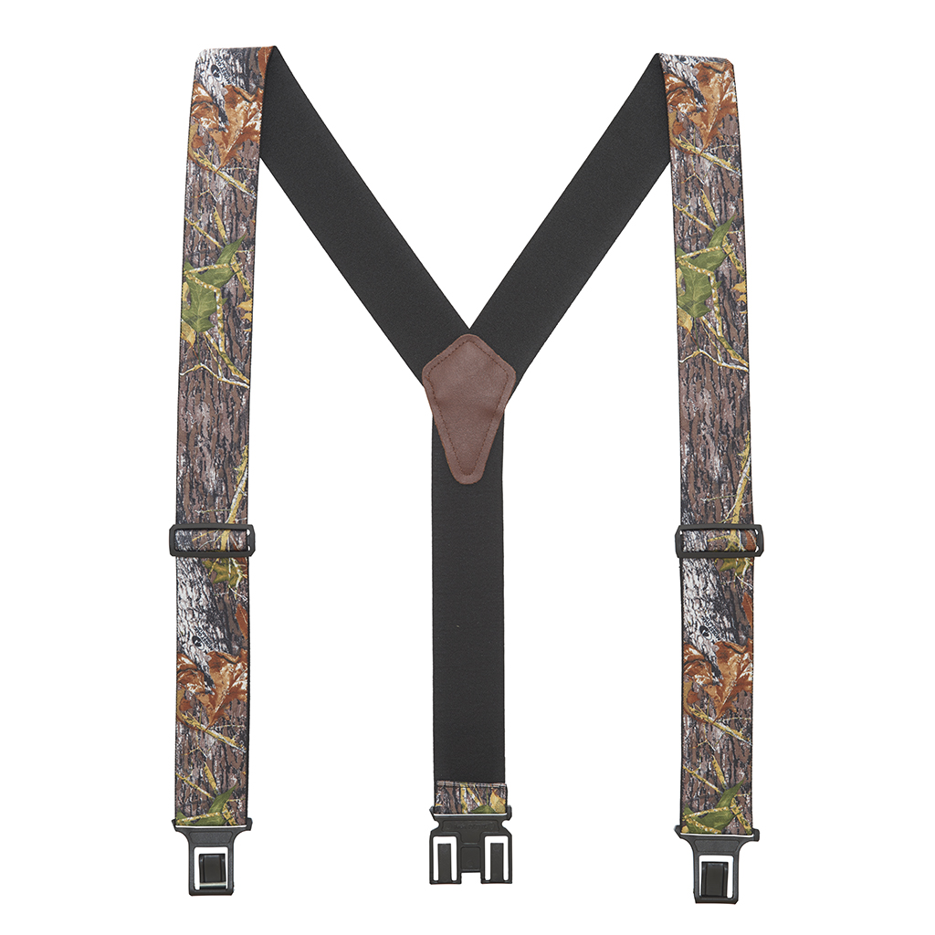 Perry Suspenders - Full View - Mossy Oak Camo
