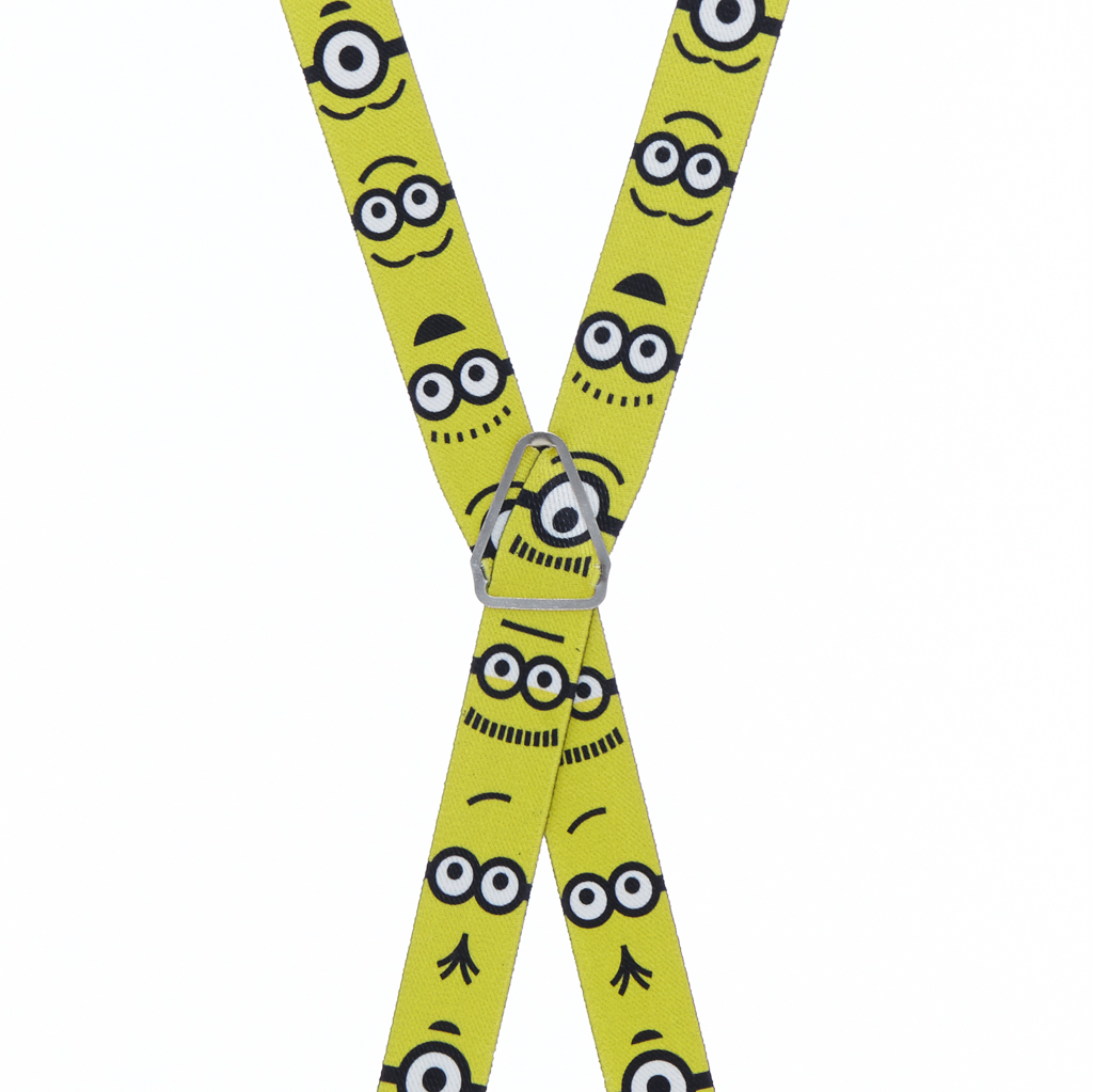 Minions Suspenders - Rear View