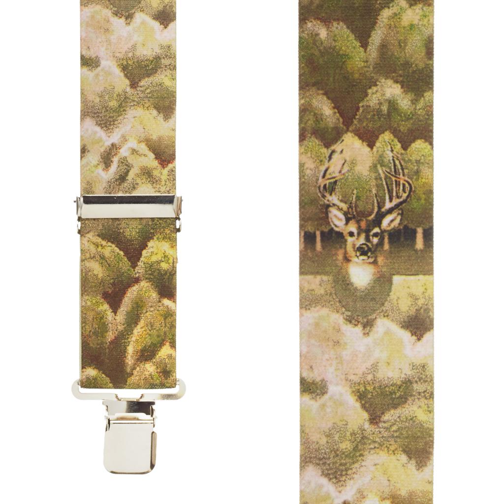 Deer Suspenders - Front View