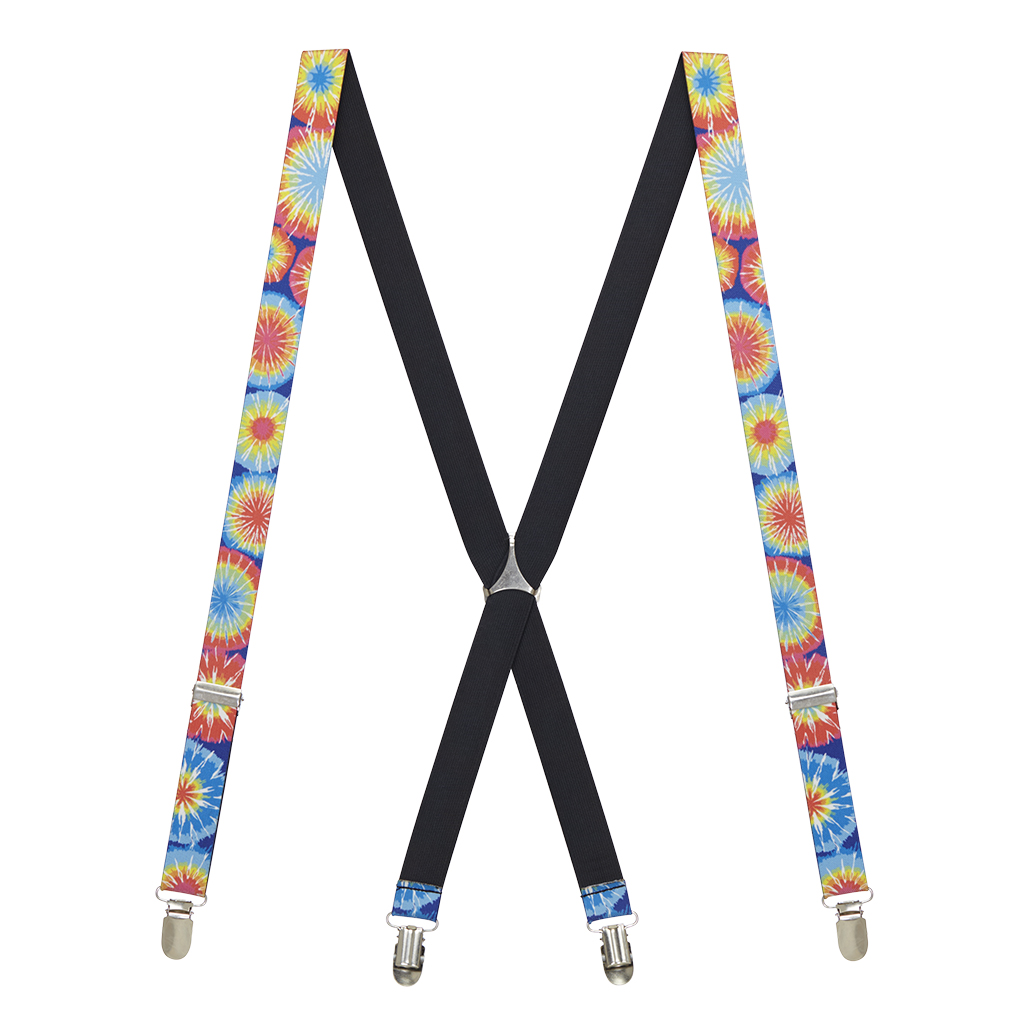 Tie-Dye Burst Suspenders - All Designs