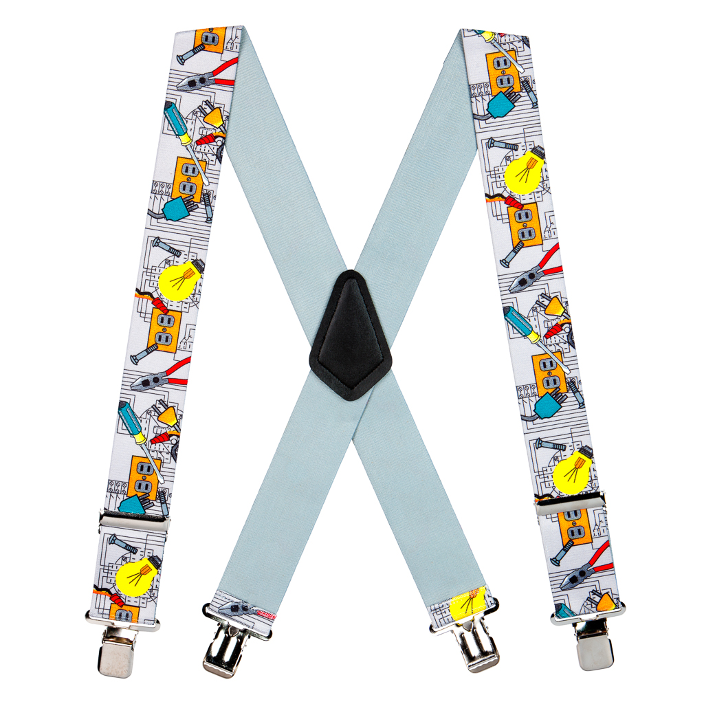 Electrician Suspenders - Full View