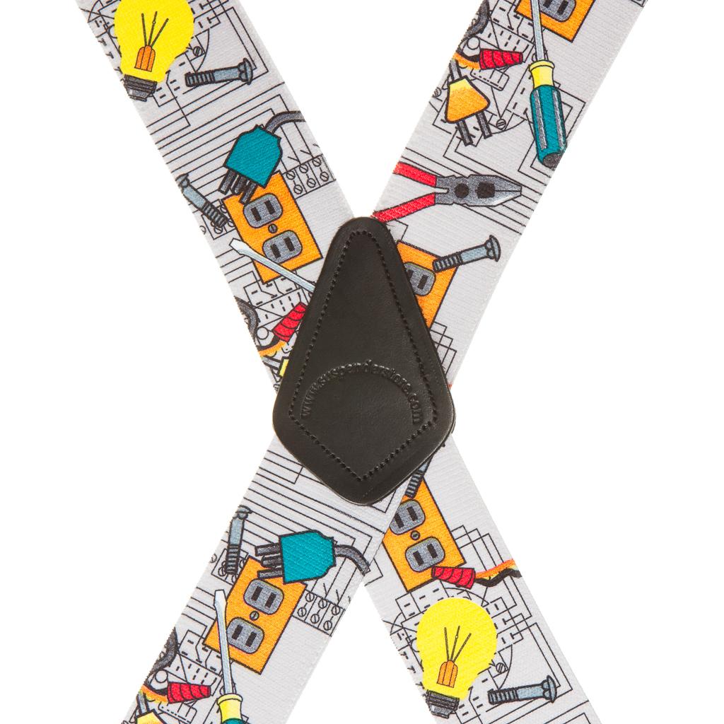 Electrician Suspenders - Rear View