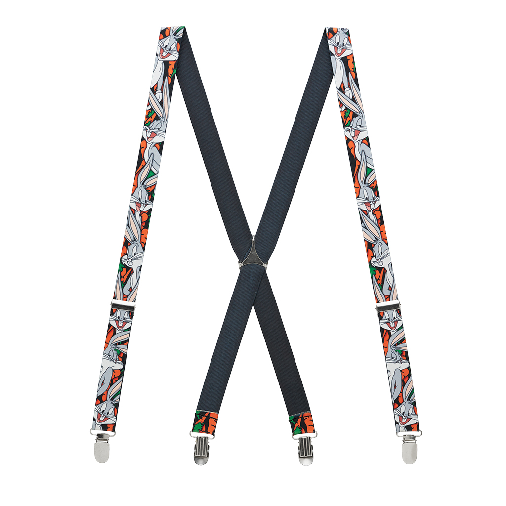Bugs Bunny Suspenders - Full View