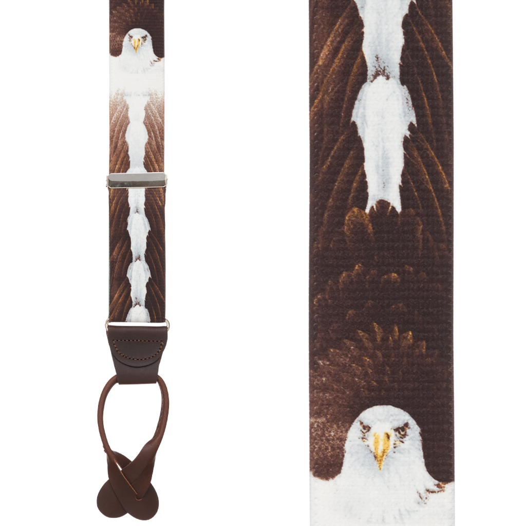 Eagle Suspenders - Front View