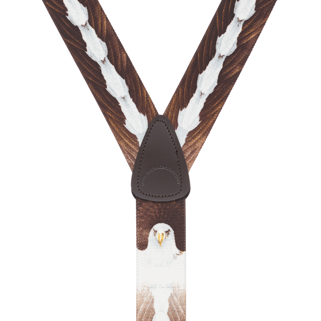 Eagle Suspenders - Rear View
