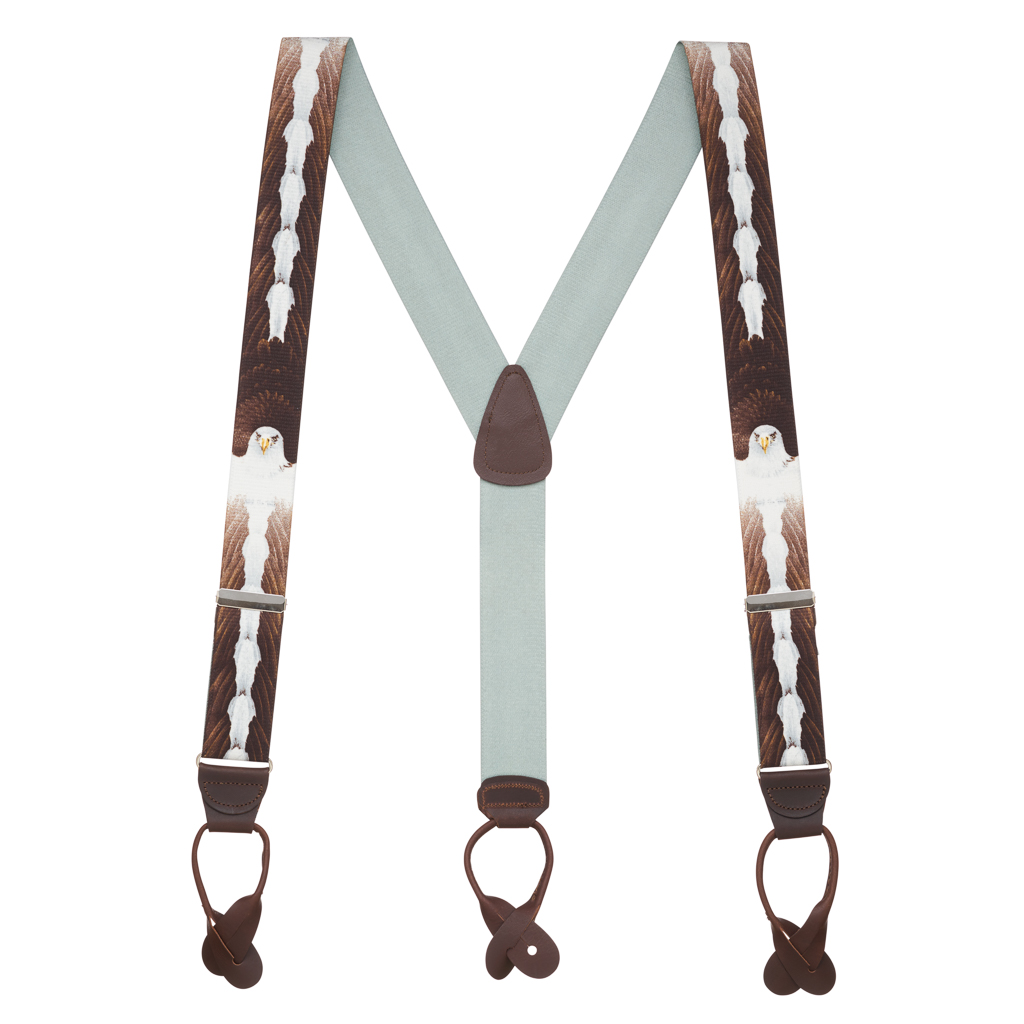 Eagle Suspenders - Full View