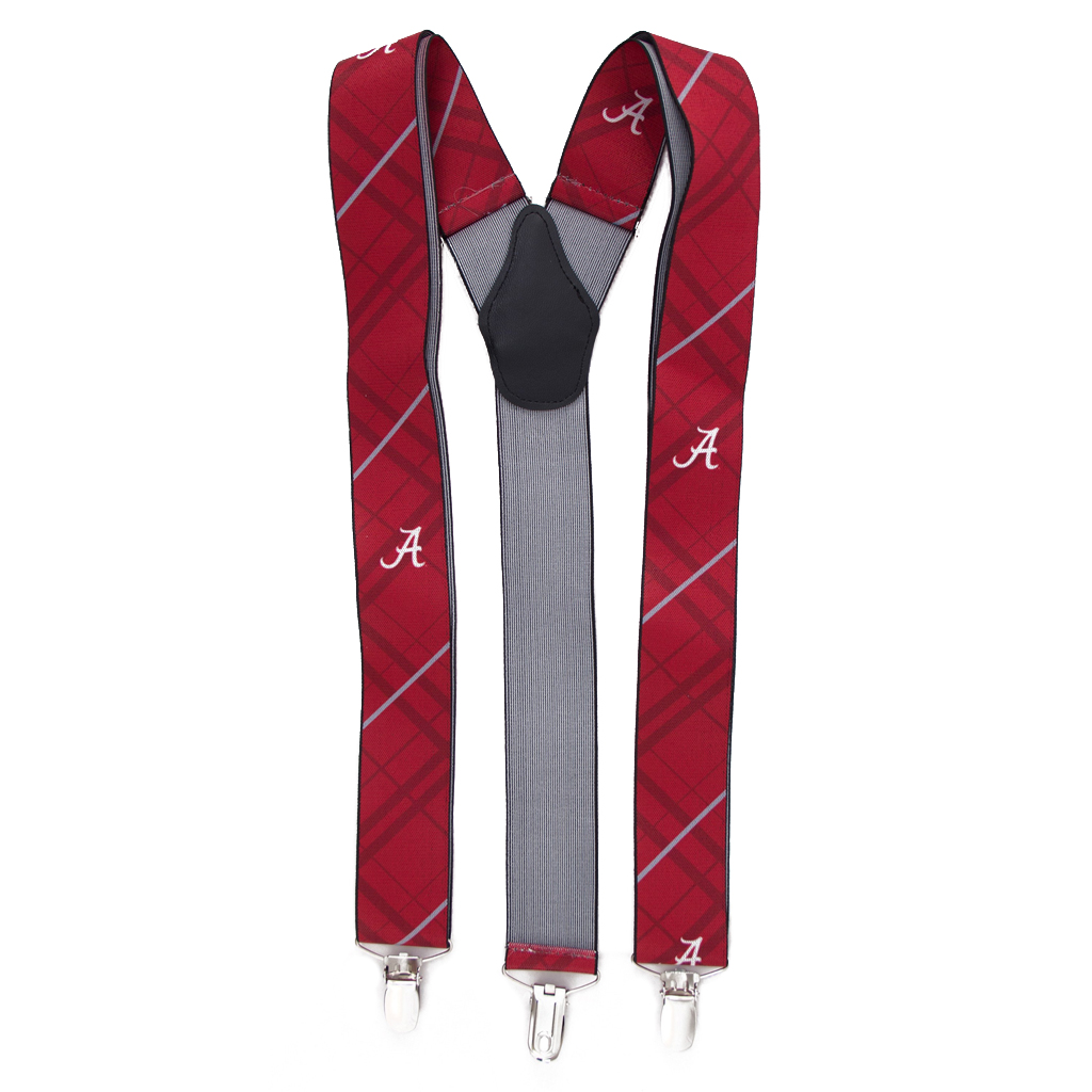 University of Alabama Suspenders - Full View