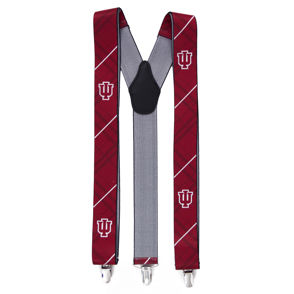 Indiana University Suspenders - Full View