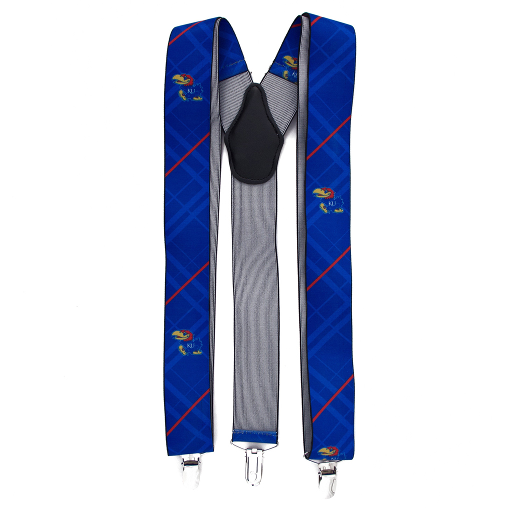 University of Kansasa Suspenders - Full View