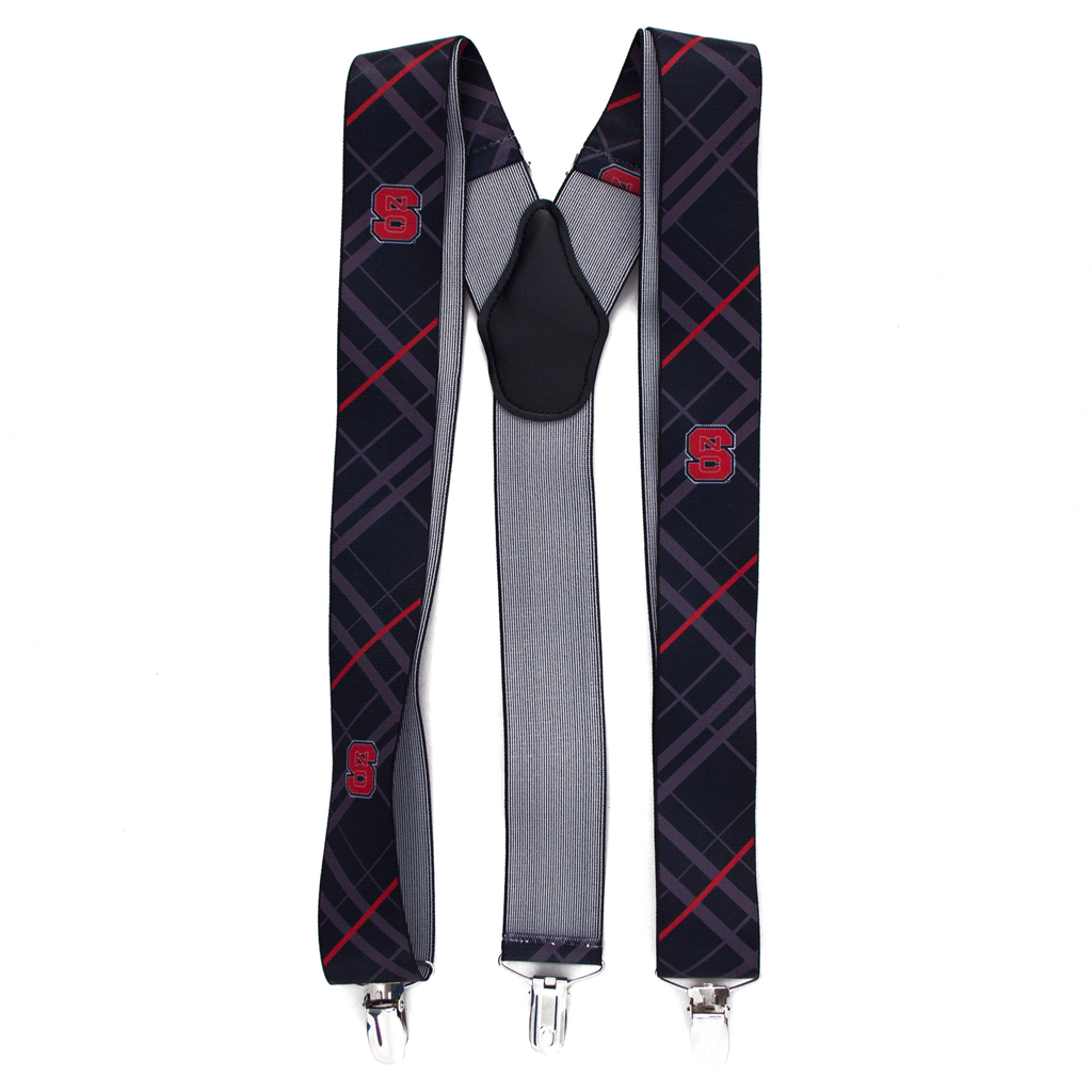 North Carolina State Suspenders
