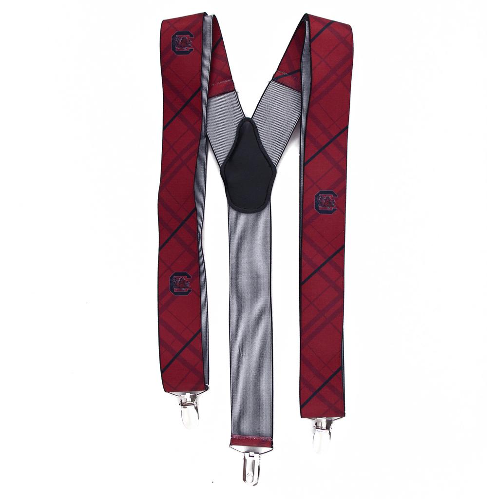 University of South Carolina Suspenders - Full View