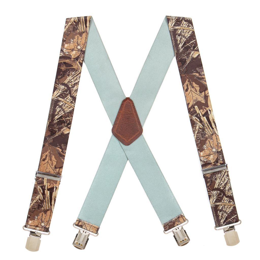 Camo Max Suspenders - Full View