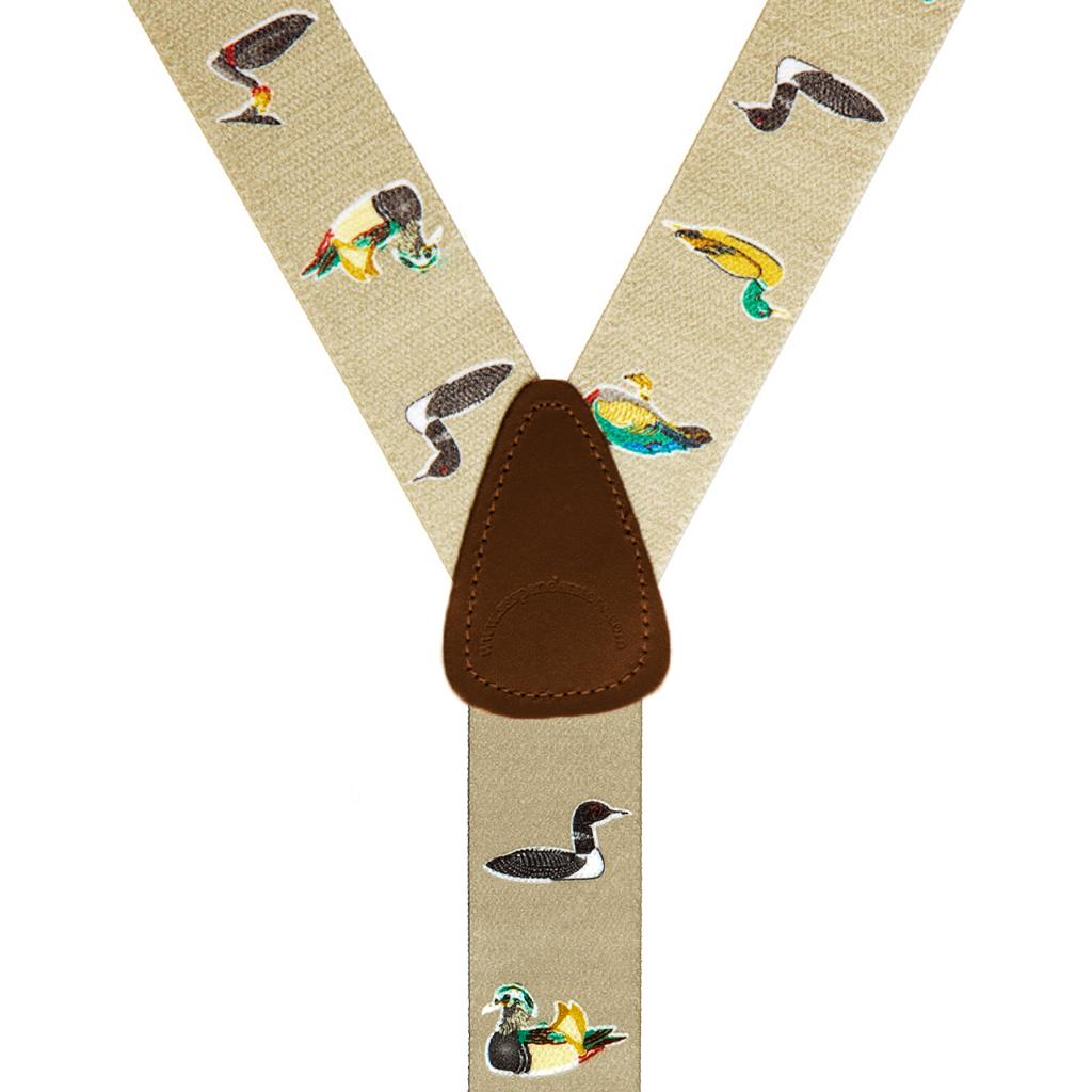 Duck Suspenders - Rear View