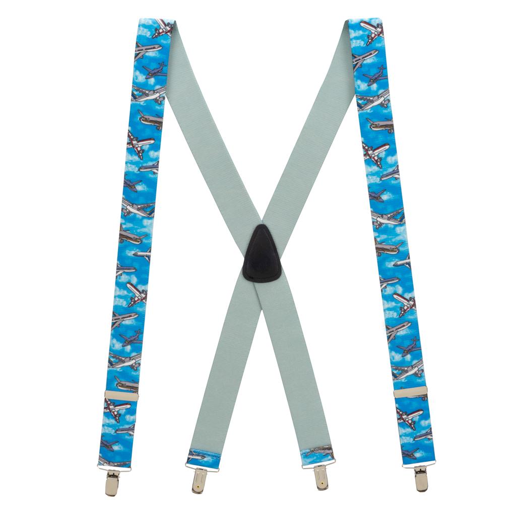 Airplane Suspenders - Full View