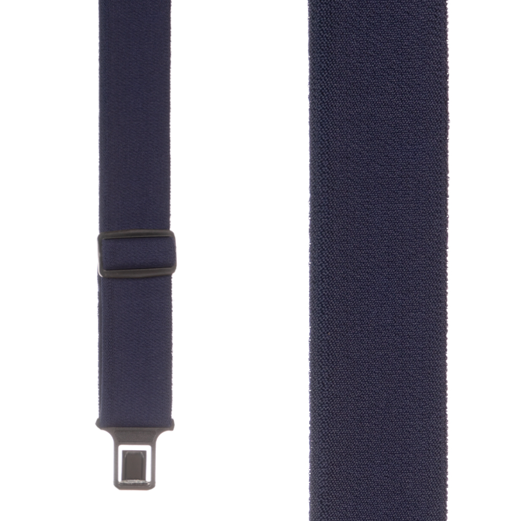 Perry Ruf-N-Tuf Suspenders in Navy Blue - Front View