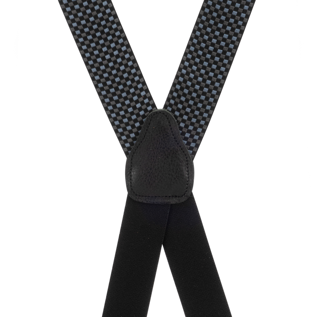 Fairfield Grosgrain CLIP Suspenders - Front View