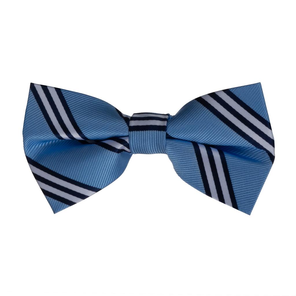 Oxford Kent Multi Stripe Bow Tie in Copenhagen