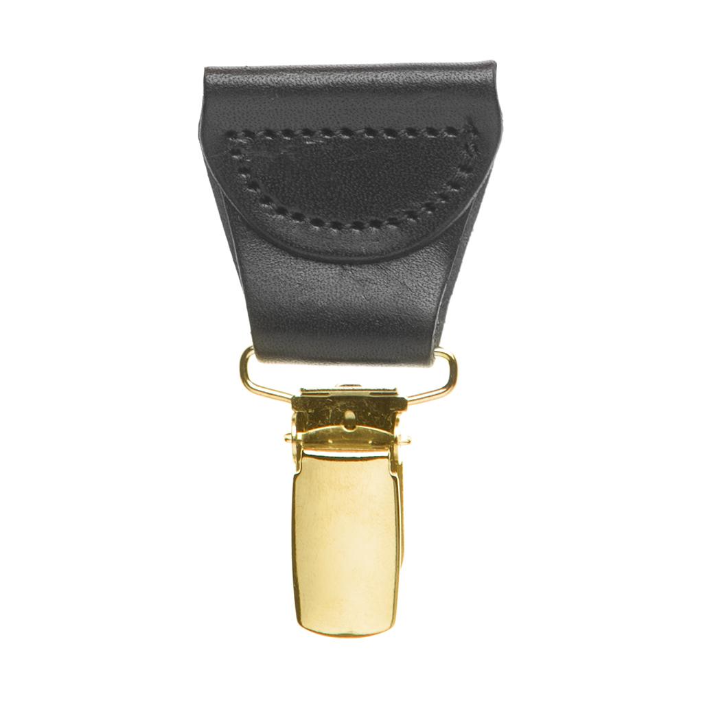 Drop Clip Black - Brass